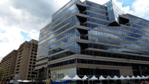 Budynek MFW w Waszyngtonie - Sputnik Polska