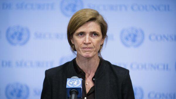 Przedstawiciel USA w ONZ Samatha Power - Sputnik Polska