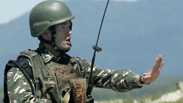 Szkolenia wojskowe NATO w Gruzji, maj 2009 - Sputnik Polska