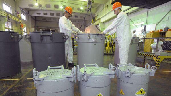 Przepracowane paliwo jądrowe - Sputnik Polska