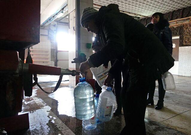 Kijów odciął dostawy wody do Ługańskiej Republiki Ludowej