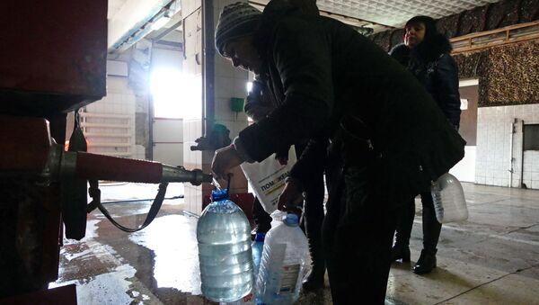 Kijów odciął dostawy wody do Ługańskiej Republiki Ludowej - Sputnik Polska