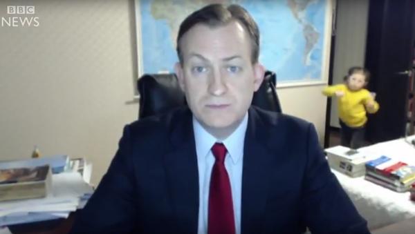Dzieci przerwały wywiad dla BBC - Sputnik Polska
