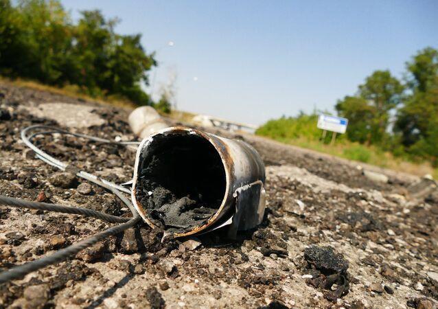 Ukraińscy żołnierze wystrzelili w kierunku DRL ponad 1200 pocisków w ciągu minionej doby