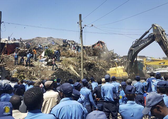 Wysypisko śmieci Koshe powstało ponad 50 lat temu