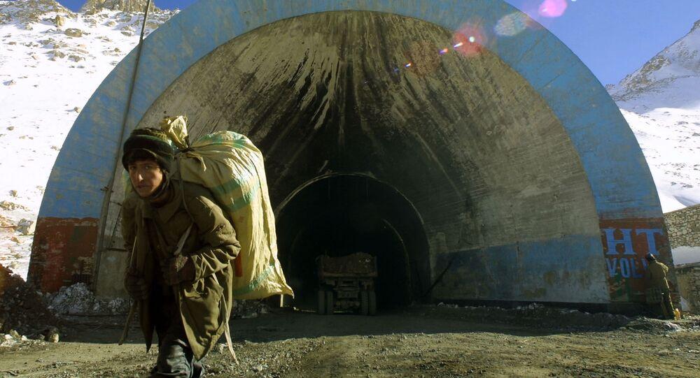 Tunel Salang w Afganistanie