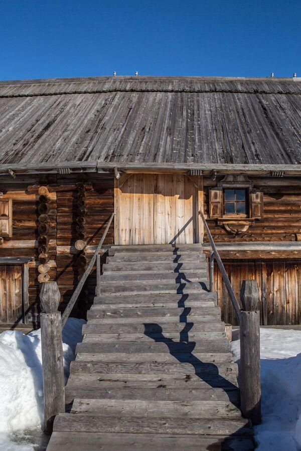 Dom na terenie muzeum-rezerwatu Kiży. - Sputnik Polska