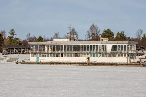 Była pływająca restauracja na jeziorze Onega. - Sputnik Polska