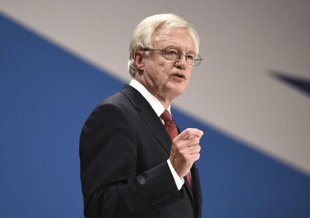 Brytyjski minister ds. wystąpienia Wielkiej Brytanii z UE David Davis