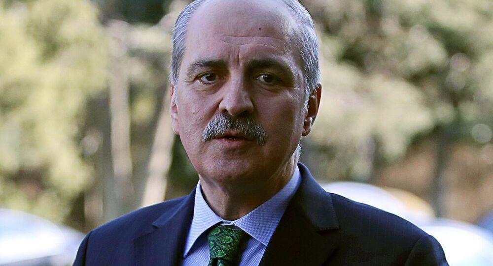 Wicepremier Turcji Numan Kurtulmuş