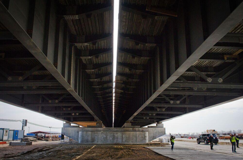 Most nad Cieśniną Kerczeńską