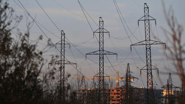 Linie wysokiego napięcia w obwodzie lwowskim - Sputnik Polska