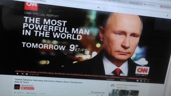 Film CNN o Putinie - Sputnik Polska