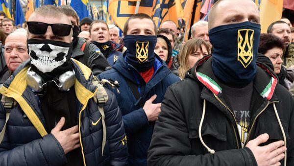 Ukraińscy nacjonaliści w Kijowie - Sputnik Polska