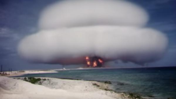 USA odtajniły wideo z testów broni jądrowej - Sputnik Polska