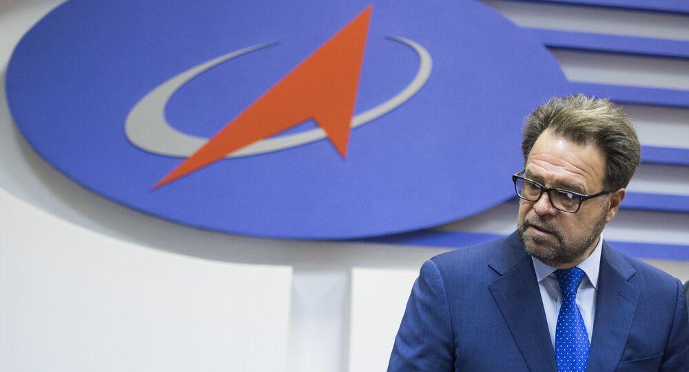 Dyrektor generalny korporacji Energia Władimir Sołncew