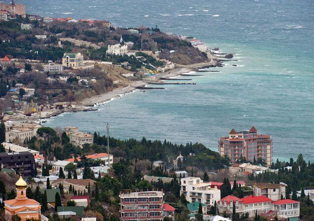 Nabrzeże Simeiza i Ałupki, Krym
