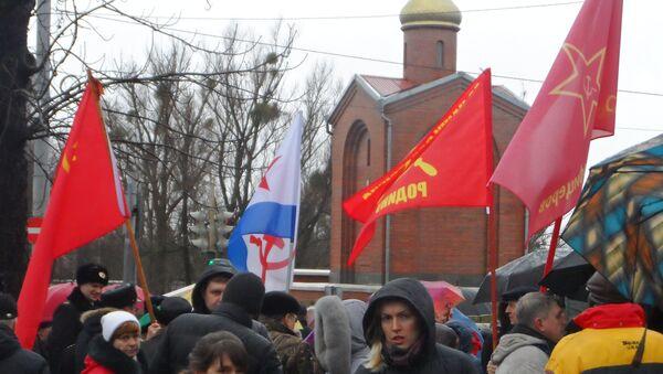 Kaliningrad. W oczekiwaniu na przemarsz pod pomnik Gwardzistów - Sputnik Polska