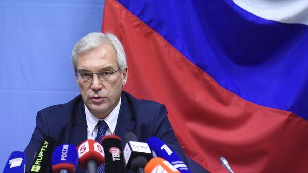 Ambasador Rosji przy NATO Aleksander Gruszko - Sputnik Polska