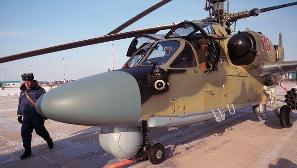 Śmigłowiec Ka-52 Aligator - Sputnik Polska