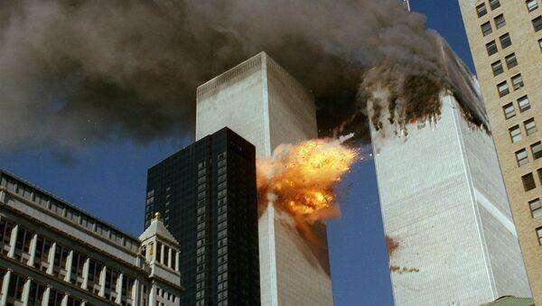 Zniszczenia w rezultacie ataku terrorystycznego z 11 września w Nowym Jorku - Sputnik Polska