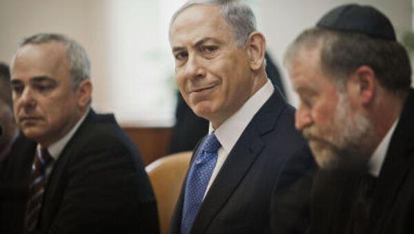 Premier Izraela Binjamin Netanjahu - Sputnik Polska