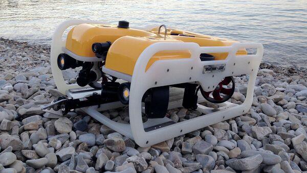 """Zdalnie sterowany podwodny dron """"Marlin 350"""" - Sputnik Polska"""