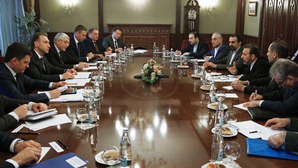 Rosja i Iran 13 marca negocjowały  umowy na łączną kwotę około 10 mld dol. - Sputnik Polska