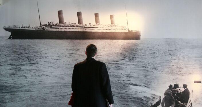 Ostatnia fotografia Titanica.