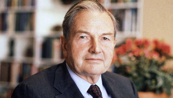 Przemysłowiec David Rockefeller - Sputnik Polska