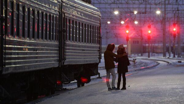"""Dziennikarka """"The Sunday Times Magazine"""" Katie Glass wyruszyła z Moskwy do Pekinu pociągiem.  - Sputnik Polska"""