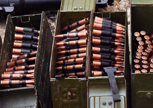Broń i amunicja znalezione przez organy ścigania ŁRL