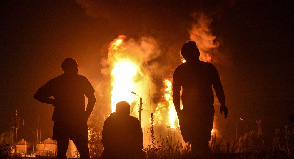 Kolejny pożar na bazie paliwowej pod Kijowem