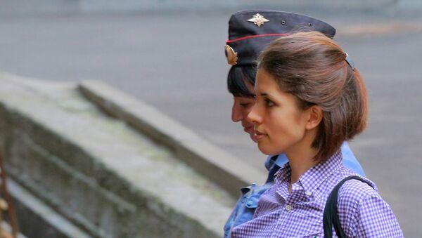 Była członkini rosyjskiej grupy Pussy Riot Nadieżda Tołokonnikowa - Sputnik Polska