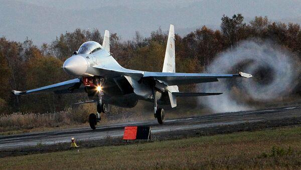 Wielozadaniowy Su-30 M2 fighter jet - Sputnik Polska