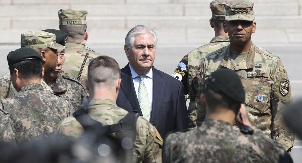 Sekretarz stanu USA Rex Tillerson