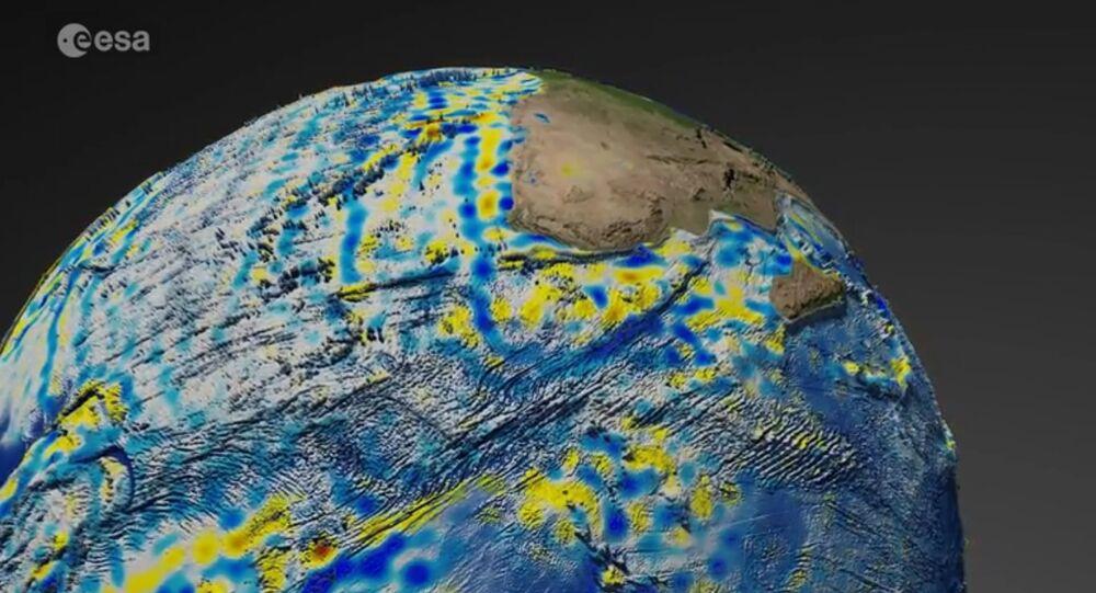 Europejska Agencja Kosmiczna pokazała anomalie pola magnetycznego Ziemi