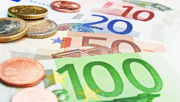 Monety i banknoty euro - Sputnik Polska