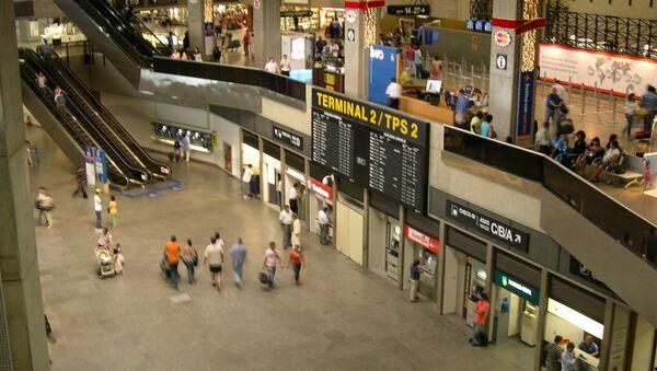 Międzynarodowy port lotniczy São Paulo-Guarulhos - Sputnik Polska