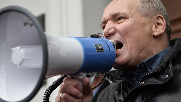 Uładzimir Niaklajeu - Sputnik Polska