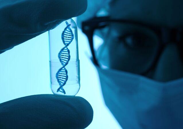 DNA w kapsule