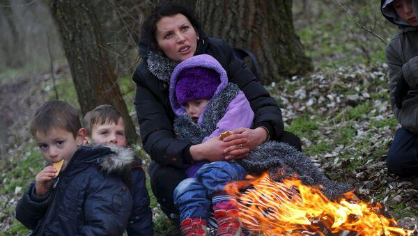 Kosowscy uchodźcy - Sputnik Polska