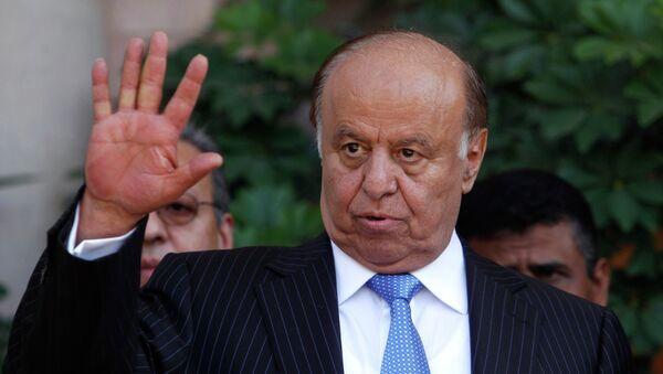 Prezydent Jemenu Abd ar-Rab Mansur al-Hadi - Sputnik Polska