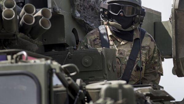 Międzynarodowy konwój sił NATO dotarł do Polski - Sputnik Polska