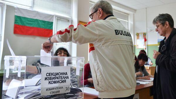 Przedterminowe wybory parlamentarne w Bułgarii - Sputnik Polska