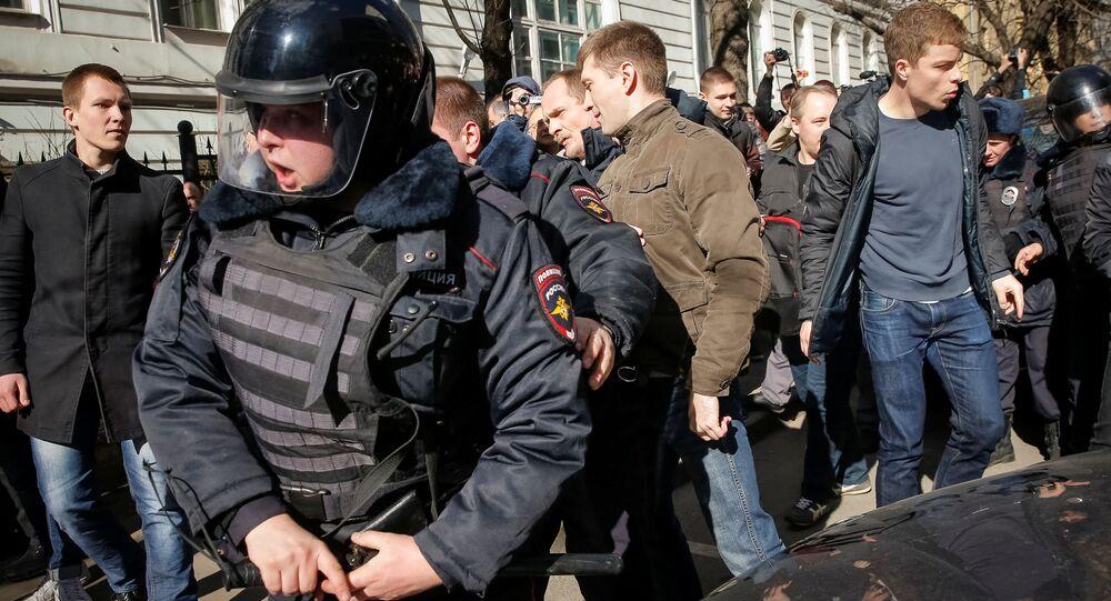 Akcja protestu w Moskwie