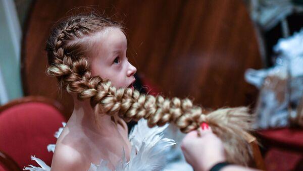 Uczestniczka konkursu Młoda rosyjska piękność 2017 w Moskwie - Sputnik Polska