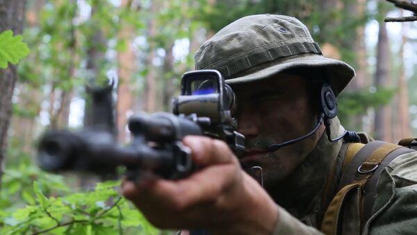Tak przygotowują się żołnierze Rosgwardii - Sputnik Polska