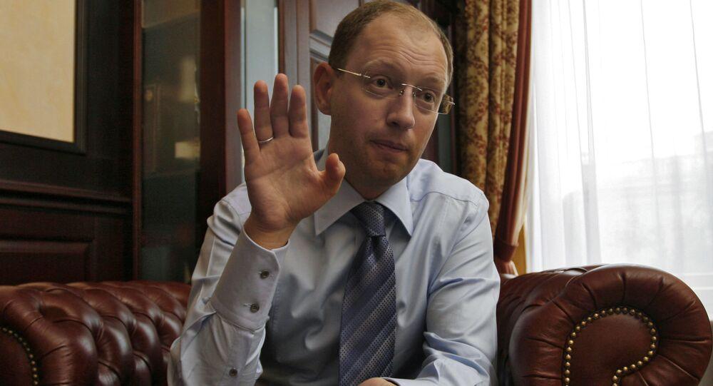 Były deputowany Rady Arsenij Jaceniuk