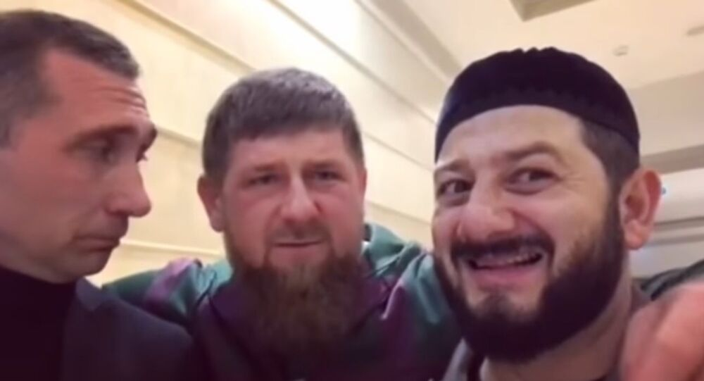 Kadyrow i Galustyan nakręcili wiadomość dla NATO